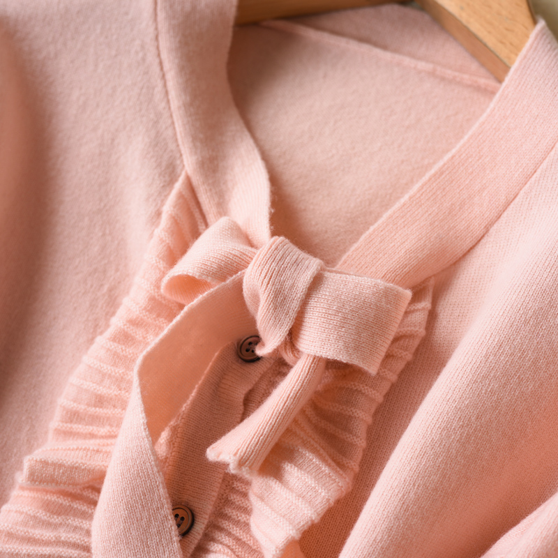 LHZSYY 2018 Herfst en Winter Nieuwe vrouwen Pure Kasjmier Vest Mode Zachte Hoge Kwaliteit Warme Truien Effen Kleur Losse jas-in Vesten van Dames Kleding op  Groep 3