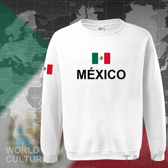 Mexico team 2017 hoodies men sweatshirt sweat new streetwear clothing jersey sporting tracksuit nation Mexican fleece MX MEX 4