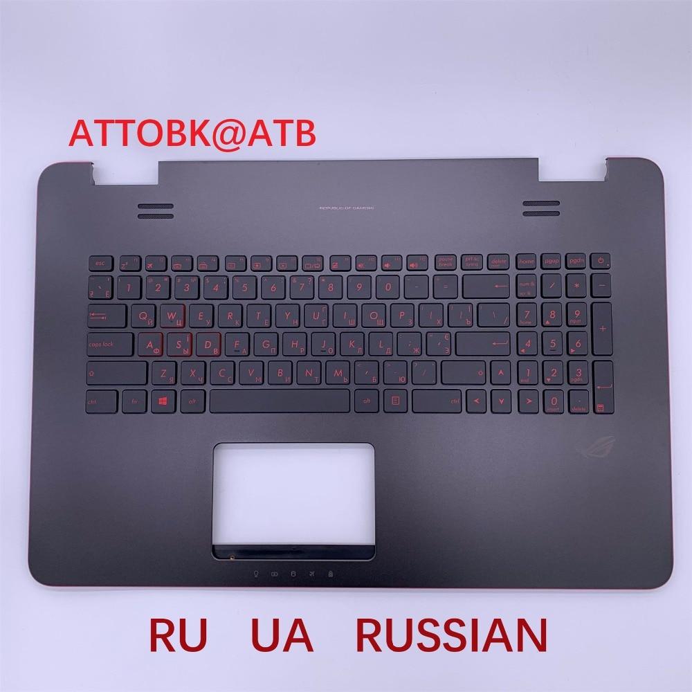 Image 4 - RU US LA AR clavier dordinateur portable standard pour ASUS N751  N751J G771 G771JW GL771JM GL771JW GL771 avec rétro éclairage avec  couvercle CRemplacement Claviers