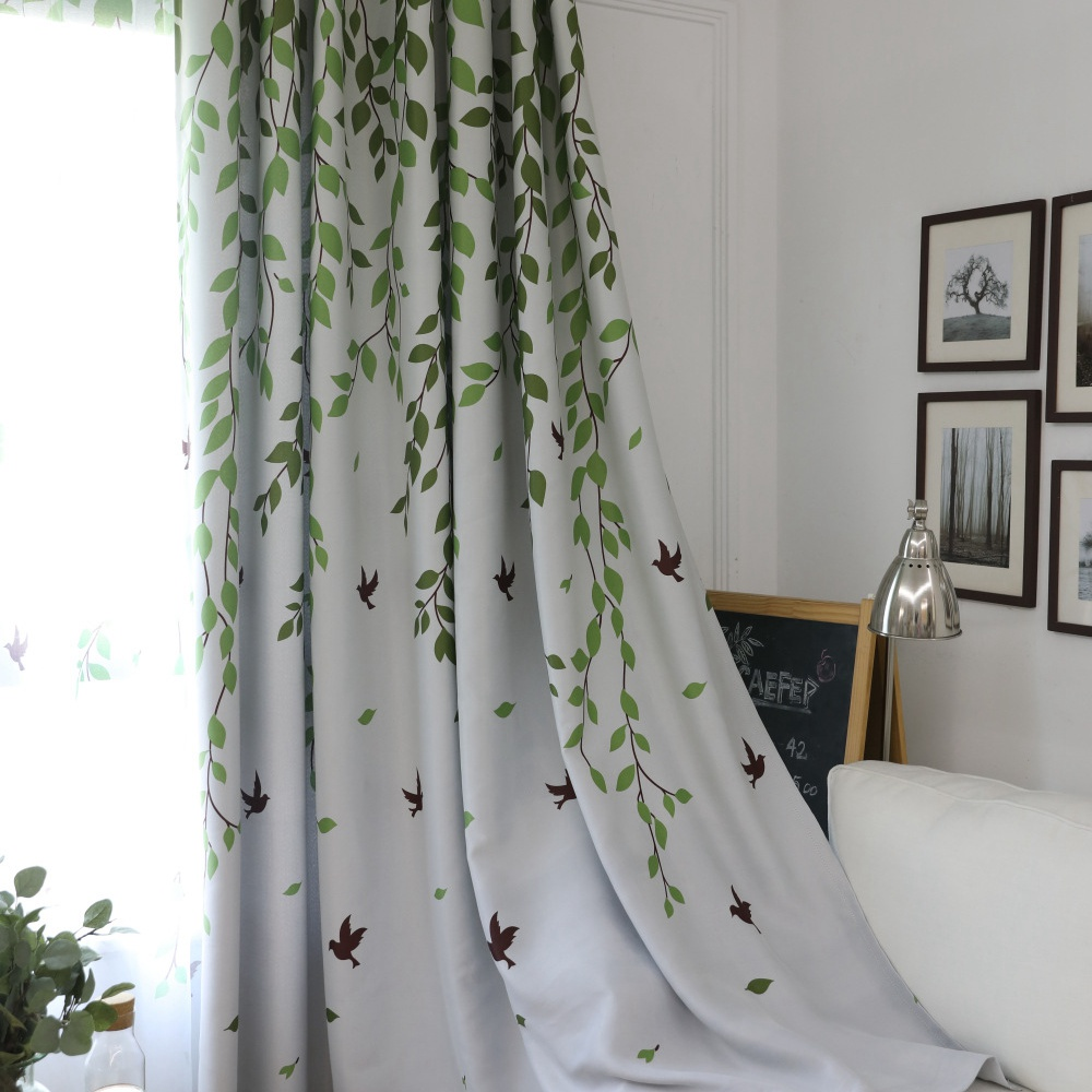 curtains birds lovely picture bird teawing of with shower