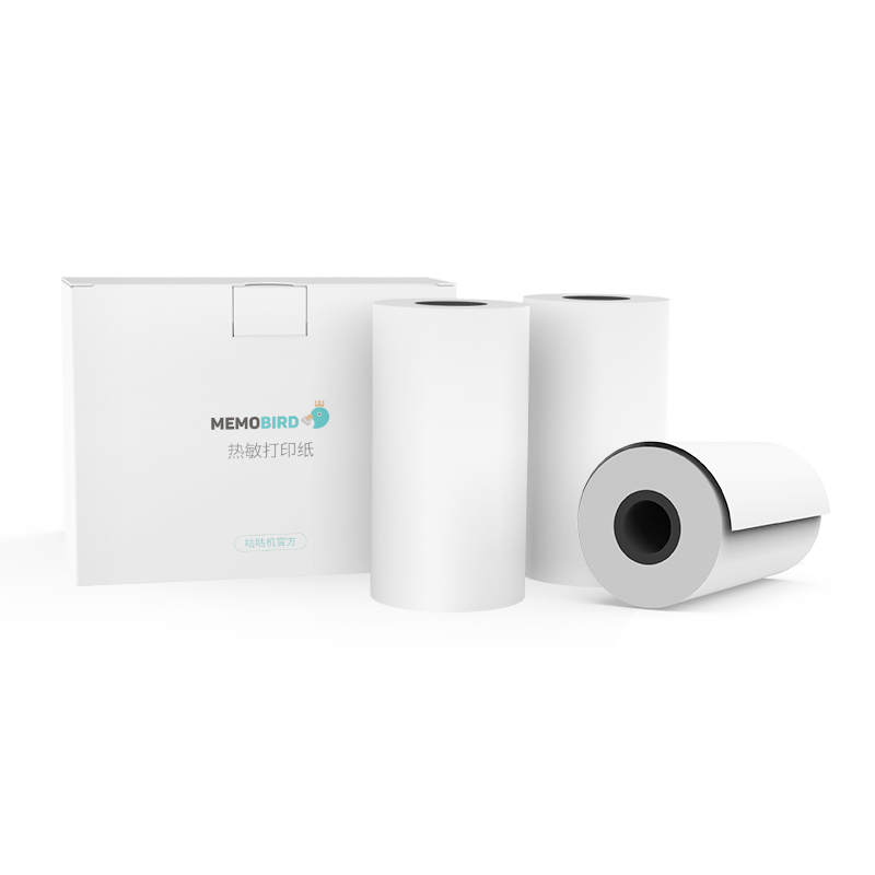 MEMOBIRD G3 High quality thermal printing paper 57 * 25mm photo printing paper paper 3 rolls without bisphenol A