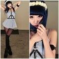 Menina bonito artesanal de couro Harness acessórios cravado gargantilha Halter corpo Bondage correias de cintura cintos