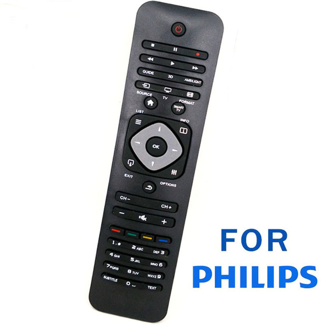 Hot sale New Replacement Remote Control For Philips 3D Smart TV PHILIPS Parts 55/ 65PFL7730 8730 9340 Series