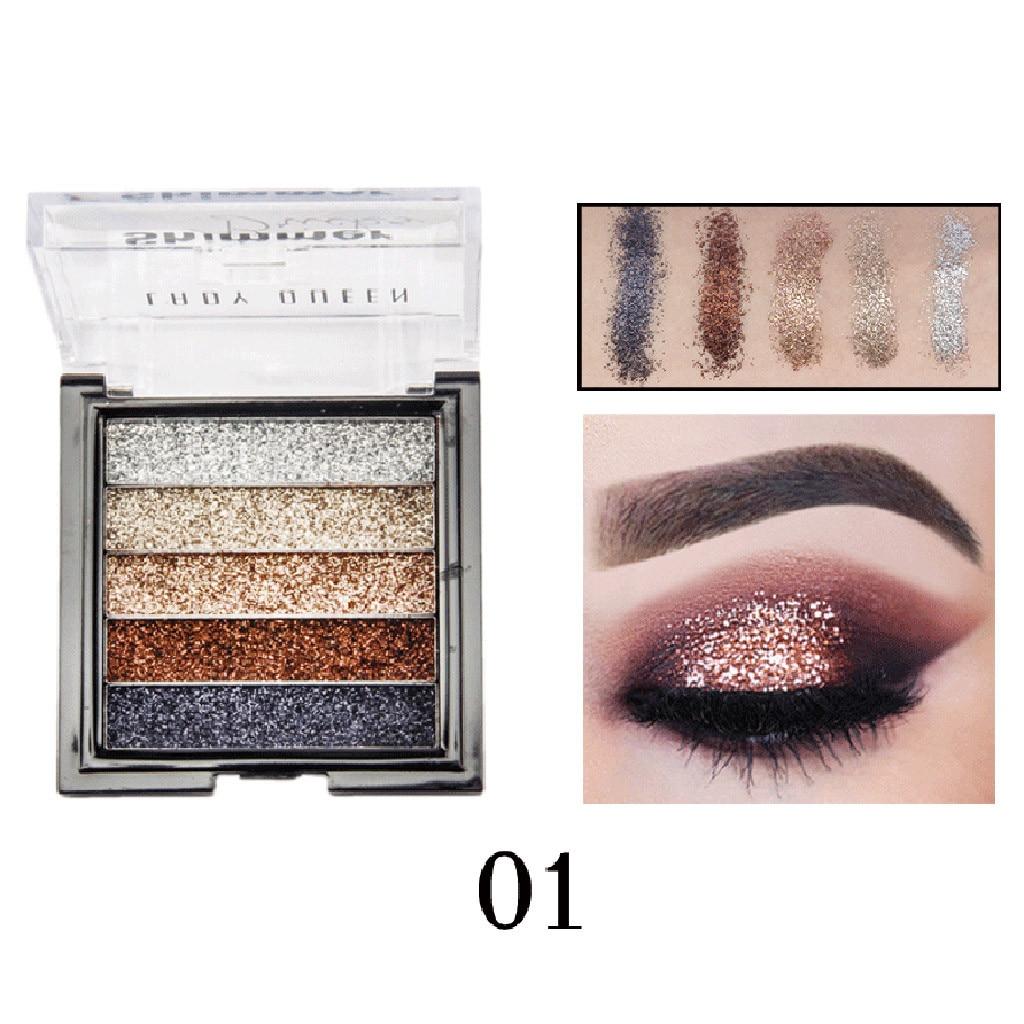 Shimmer Glitter Eye Shadow Powder Palette Matte Eyeshadow Cosmetic Makeup #smt