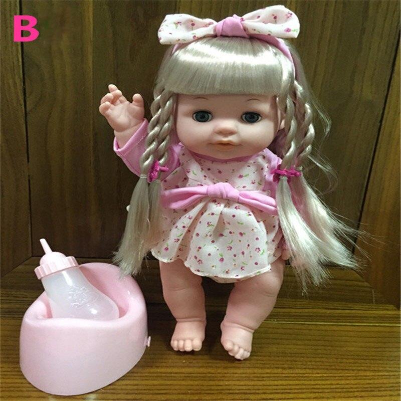 Las muñecas bebé Lelia pueden sonar beber agua serán orinar y - Muñecas y accesorios - foto 4