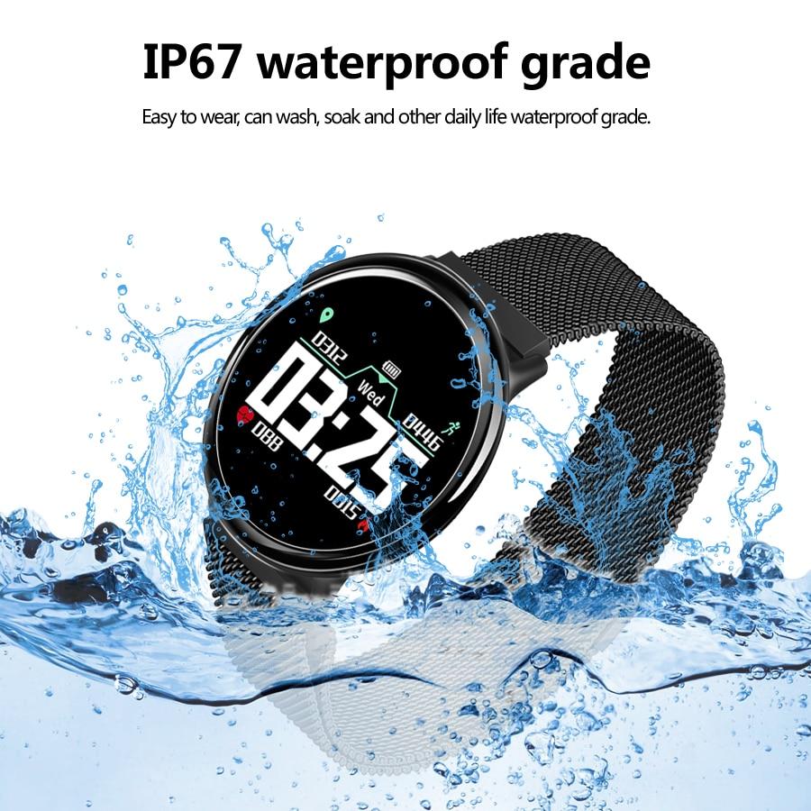 HB08S Smart sports bracelet, heart rate monitoring, blood pressure monitoring,  information push smart bracelet ,Smart  watch.