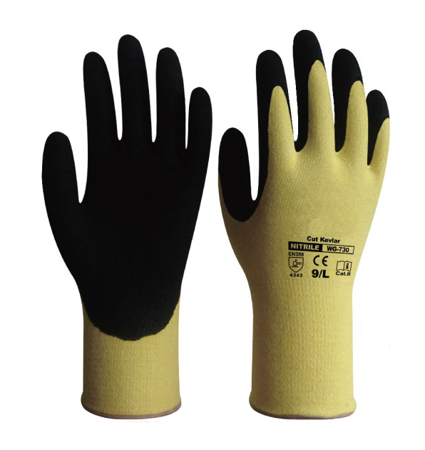 Cut Resistant Safety Glove Steel Glove HPPE Glove Anti Cut Aramid Fiber Work Glove anti cut safety glove hppe cut resistant work glove