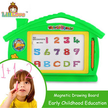 LittLove Preschool Toy Magnetic Drawing Board Baby Kid Child Writing Board Plastic Paint Pad Doodle Writing Painting Toys