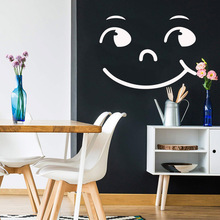 3D smile Removable Pvc Wall Stickers For Kids Rooms Diy Home Decoration For Kids Room Decoration 3pcs set 3d removable room decoration wall stickers