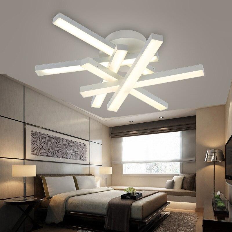 Modern Led Ceiling Lamps LED White Light Warm Living Room Dining