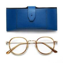 цены на Gentle Eyewear Glasses Frames Acetate and Metal For Men Unisex Round Eyeglasses Frames With Clera Lens Retro Glasses Frame YETI в интернет-магазинах