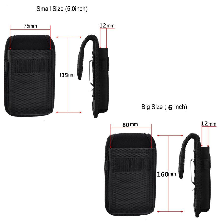 LANCASE Smartphone Pouch Belt tas pinggang untuk smartphone belt - Aksesori dan suku cadang ponsel - Foto 2