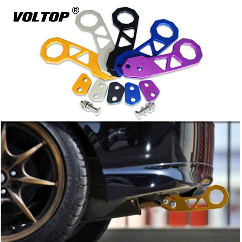 6 Colors Universal Racing Car Rear Tow Hook High Quality Aluminum Alloy Towing Bars
