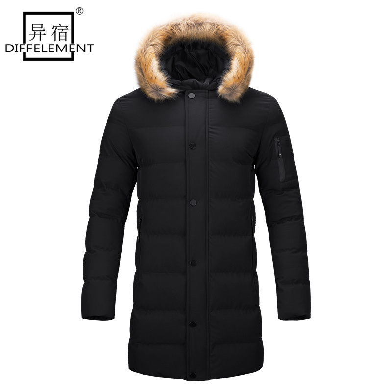 DIFFELEMENT 2017 New style long Coat Men brand clothing fashion ...