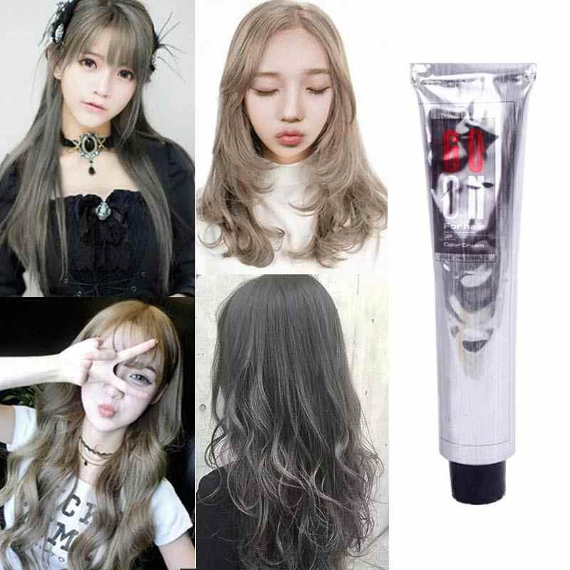 100 мл модный крем для волос натуральный постоянный Профессиональный DIY краситель