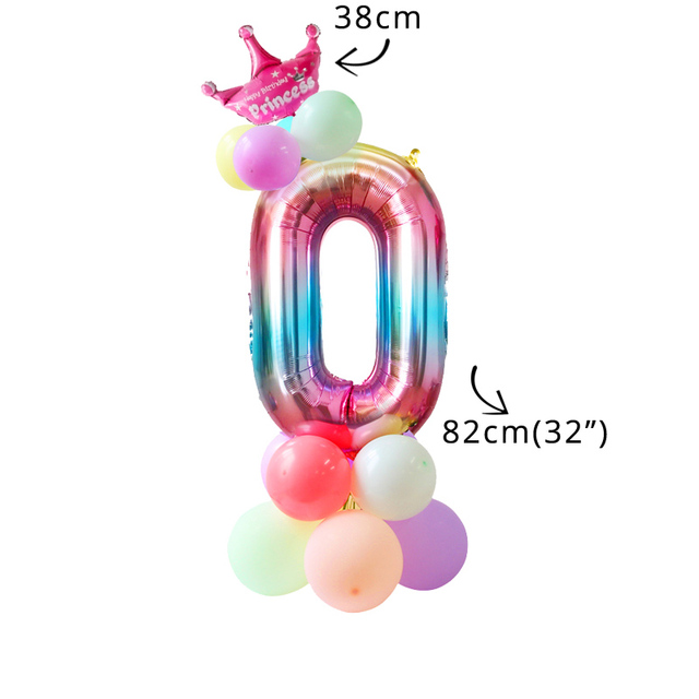16pcs balloon kit 0