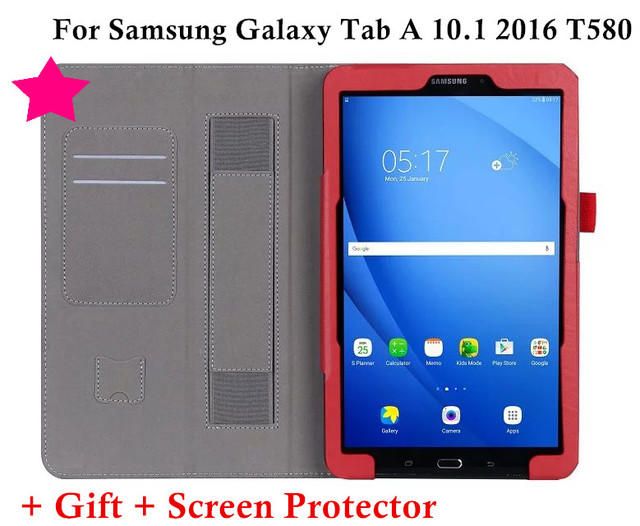 Magnet Smart Flip Cover For Samsung Galaxy Tab A 6 A6 10 1 2016 T585
