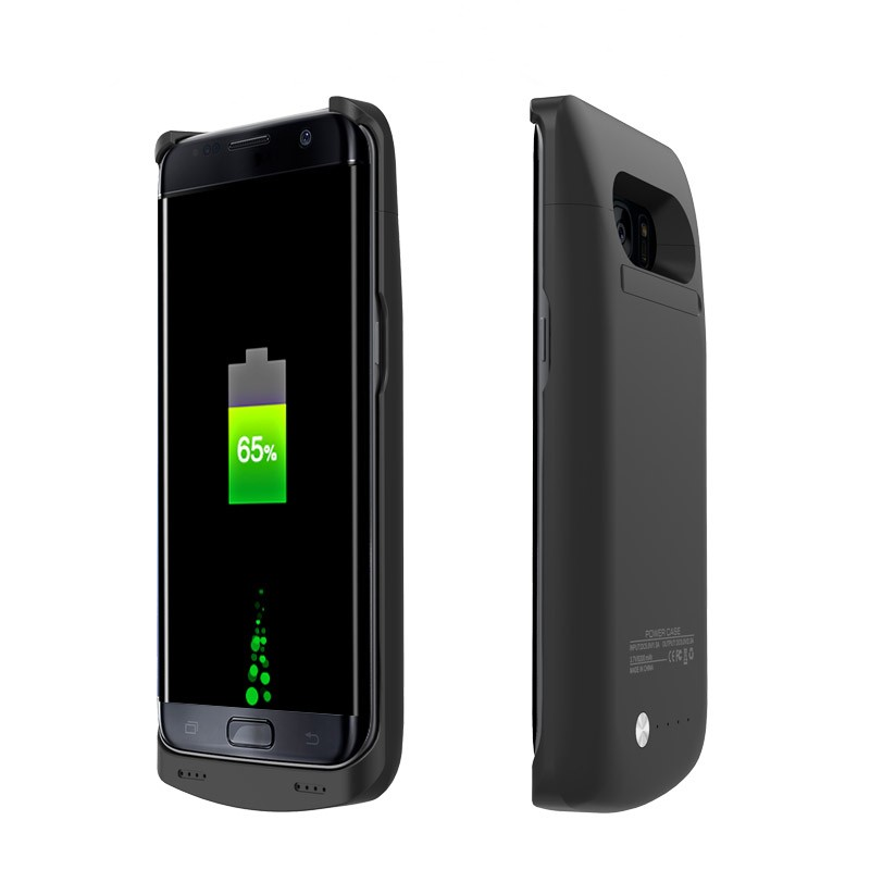 Цена за Для samsung galaxy s7 edge случае 5200 мАч зарядное устройство дело power для samsung galaxy s7edge g935 крышка питания