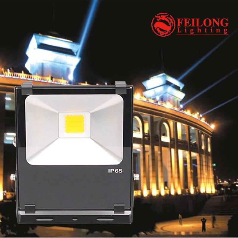 Led lumière extérieure en aluminium corps 3-5 année garantie IP65 50 w A Mené La Lumière D'inondation