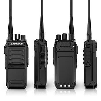 Zastone T3000 walkie talkie 400-520mhz UHF HF transceptor jamón Radio CB 6W