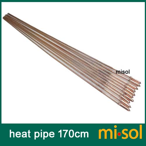 10pcs lot of copper heat pipe 170cm for solar water heater solar hot water heating