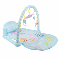 2018 Summer New Baby Pedal Piano Baby Musical Instrument Toy Fashion Music Enlightenment Toy Fitness + Music Baby Toy