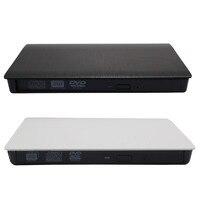 Usb 3.0 المنبثقة موبايل الخارجية ضميمة ل 12.7 ملليمتر sata cd dvd محرك bd-re