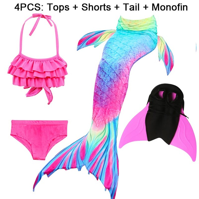 14-Colors-Girls-Swimming-Mermaid-Tail-with-Monofin-Bathing-Suit-Children-Ariel-the-Little-Mermaid-Tail.jpg_640x640 (22)