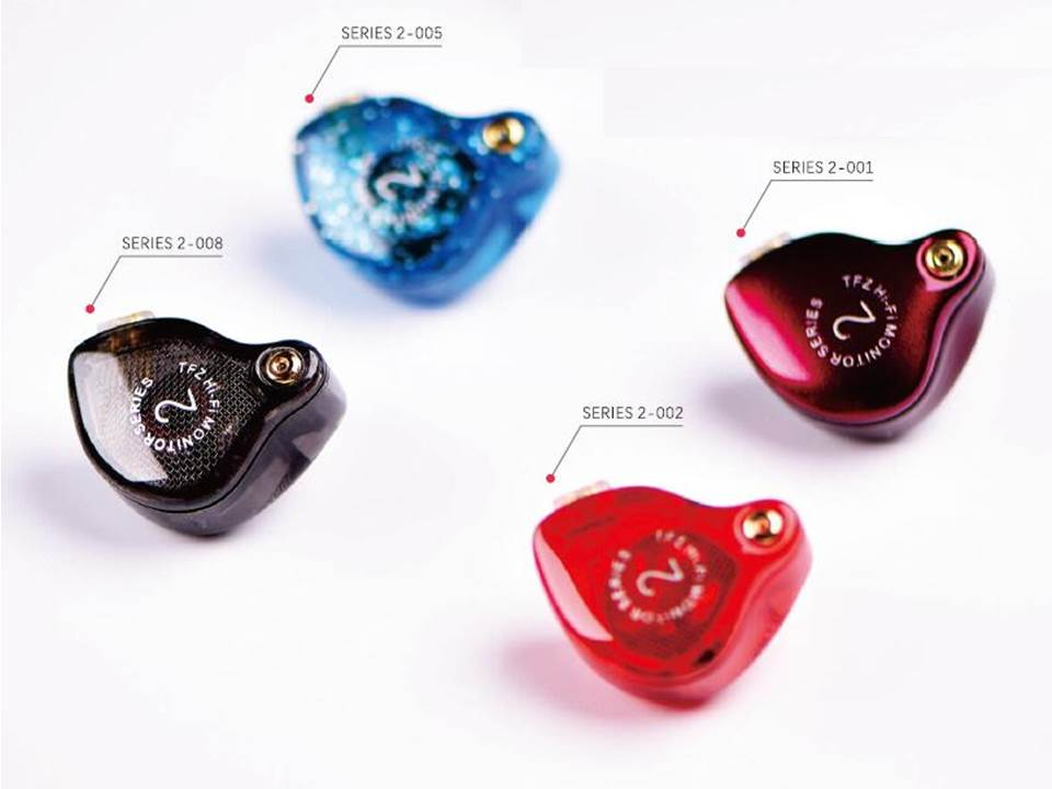 Newest TFZ SERIES 2 Dual Dynamic Driver HiFi Audiophile IEMs Music DJ Monitor Stereo In ear