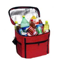 Сумки для ланча, 2017, Термосумка-холодильник от знаменитого бренда, с водонепроницаемой изоляцией, Портативная сумка для пикника, ланчейра, о...