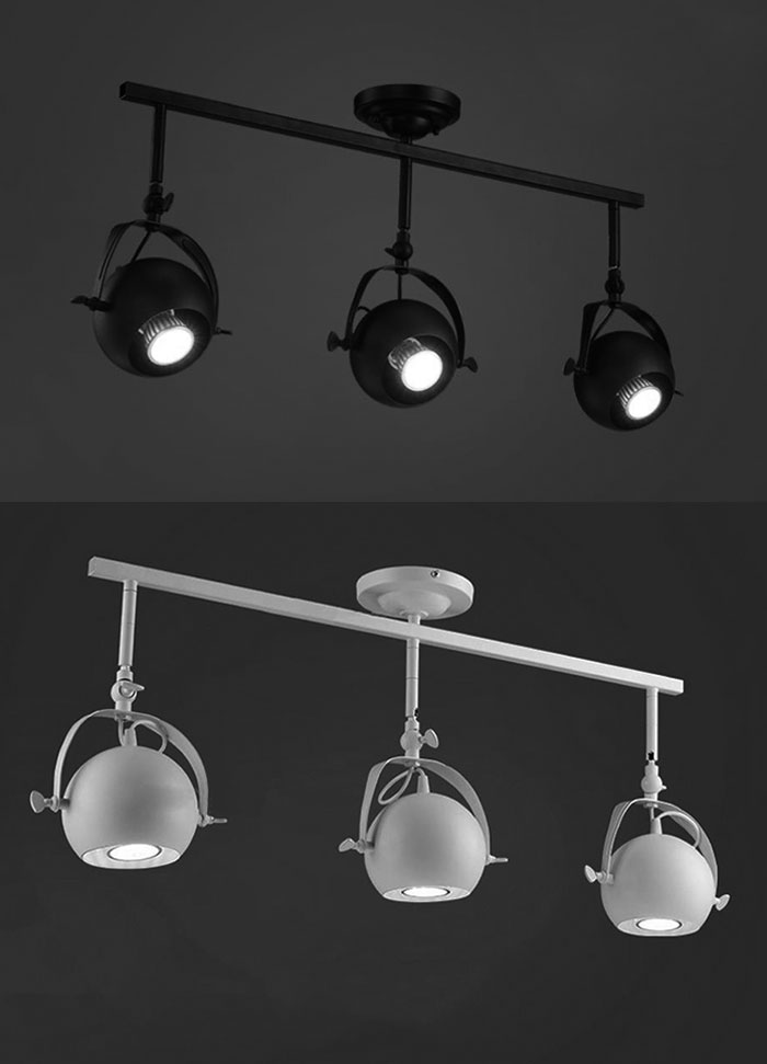 Loft vintage american clothing industry iron led ceiling spotlight loft vintage american clothing industry iron led ceiling spotlight track light 3 hanging pole lamp absorb dome led light fixture in led spotlights from sciox Images