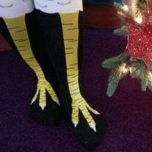 Chicken Socks Hot Selling Two Sizes Thigh High