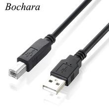 USB 2.0 Printer Cable Type A Male to Type B Male Foil+Braided(inside)+PVC Shielding 30cm 50cm 1m 1.5m 1.8m 3m 5m Black цена и фото