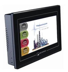 "Weinview tk6071ip tela sensível ao toque hmi 7 ""painel de toque, substituir weintek tk6070ik tk6070ih mt6070ih tk6070ip novo"