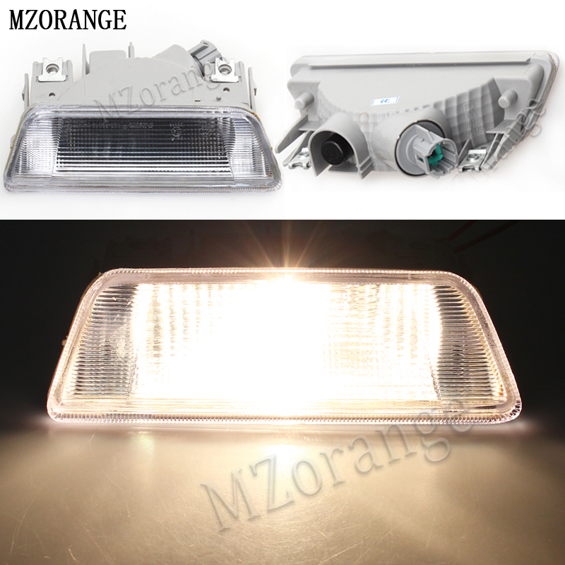MZORANGE Car rear bumper fog lamp Reverse Brake Reflector Lights For nissan X-Trail for XTrail T31 2008 2009 2010 2011 2012 2013