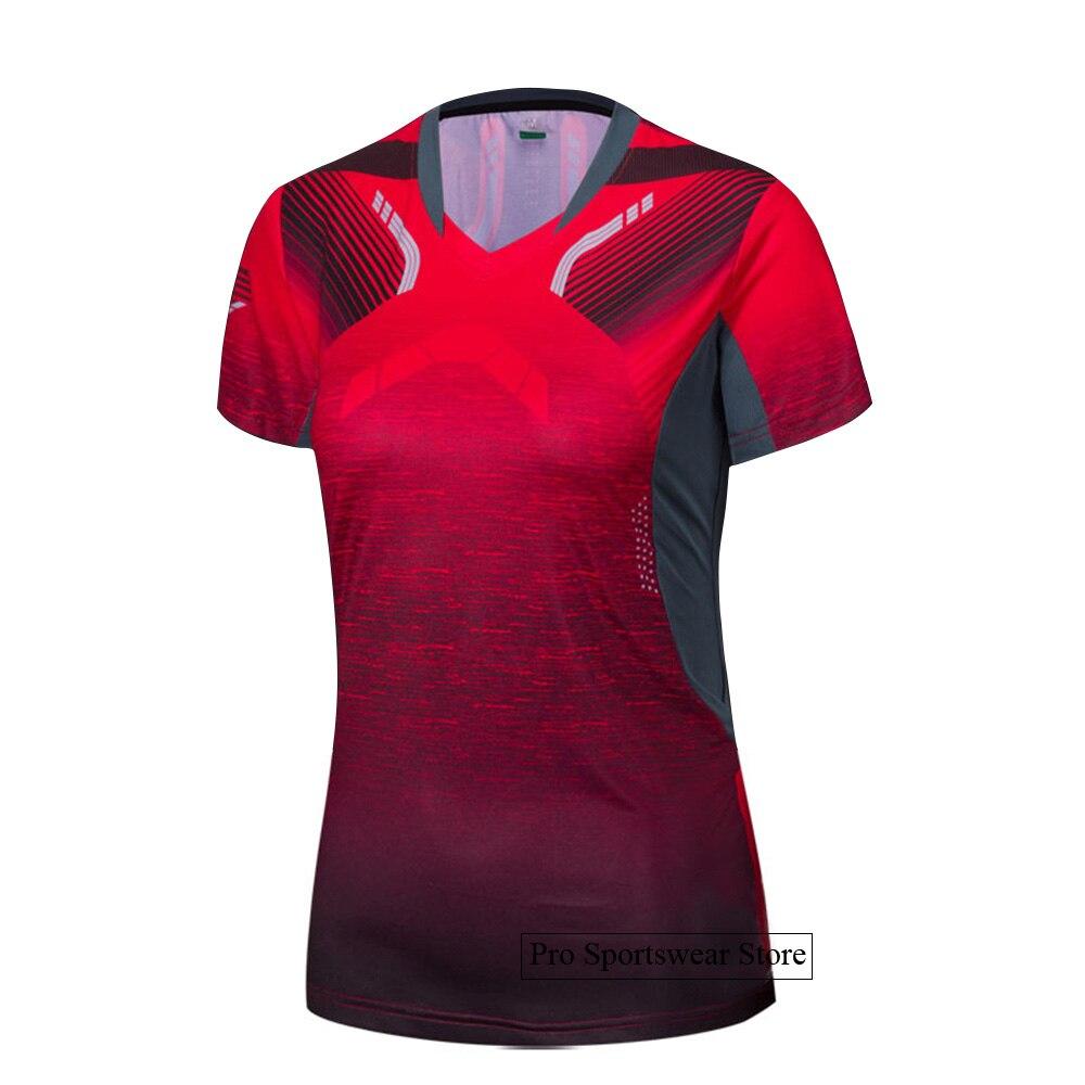 2018 Badminton shirts Men / Women, sports Gym clothing Tennis shirts , table tennis shirt , running tshirt 1025 3