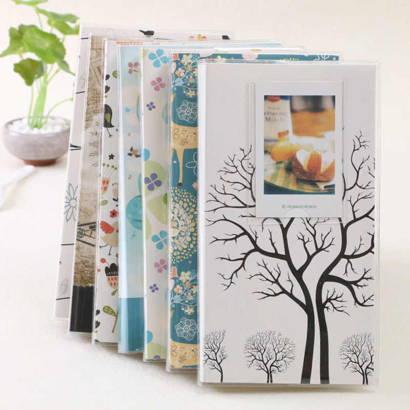 BALLE 84 Pockets Photo Album for 3 Inch Instant Polaroid Fujifilm Instax Mini Film 7s 8 25 50s (Random Small Card) High Quality