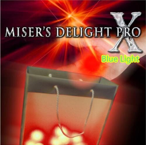 Misers délice Pro X de Mark Mason (lumière bleue disponible), tours de magie, accessoires, comédie, Illusions, scène, mentalisme