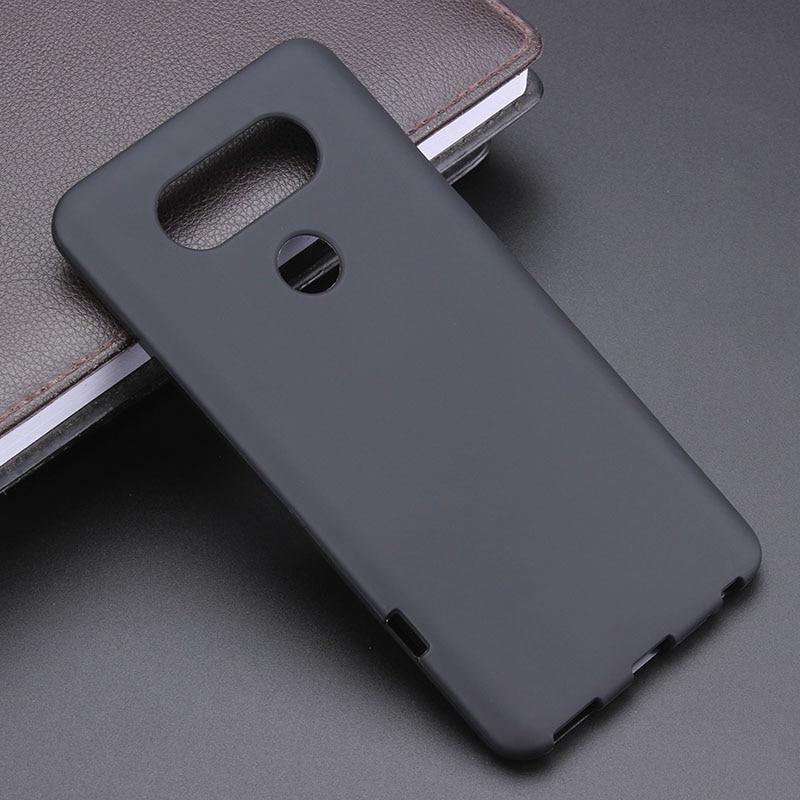 US $1 78 10% OFF Black Gel TPU Slim Soft Anti Skiding Case Back Cover For  LG V20 H910 H918 LS997 US996 VS995 H990DS Phone Rubber silicone Bag-in
