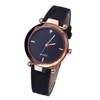 2019 New Fashion Diamond Women Watch Leather Belt Simple Luxury Brand Casual Ladies Watches Quartz Clock Reloj Mujer DropShiping
