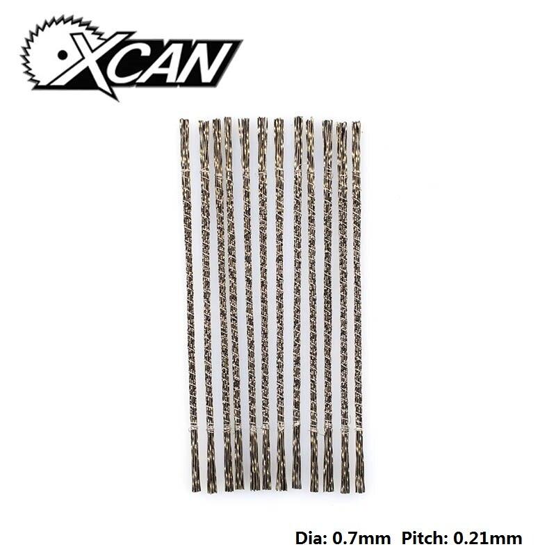 XCAN 144 pièces Lames de Scie À Denture spirale 1 # Lames de Scie à Bois Pour bricolage Bijoux De Sculpture