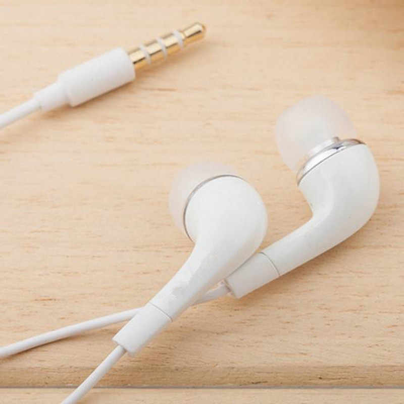 White Handsfree Headset In Ear Earphones For SAMSUNG GALAXY S4 With Remote MIC