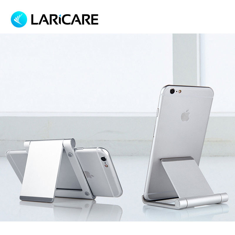 Laricare Tablet Accessories Tablet Phone Stand Stable Aluminium Anti-Slip Fold-able Mobile Phone Holder TS-01