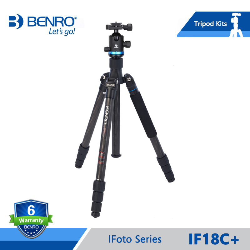 Benro iF18C+ Tripod Carbon Fiber Portable Reflexed Tripods Monopod For Camera Carrying Bag Max Loading 10kg DHL Free Shipping другие potato pasta