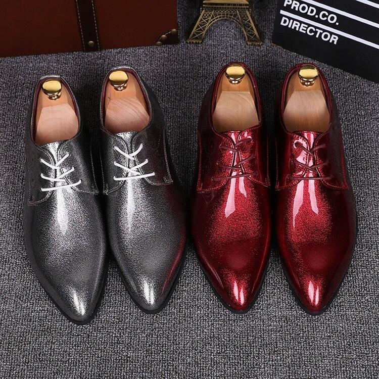 Scarpe da uomo 2019 fly tessuto scarpe da tennis degli uomini scarpe versione coreana del trend di scarpe rosse casuali degli uomini di modo marea scarpe traspiranti - 3