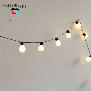 5.9M 20 LED String Light Outdoor Fairy Lights Garland G45 Bulbs Garden Home Wedding Christmas Decoration Lights Chain Waterproof - DISCOUNT ITEM  0% OFF All Category