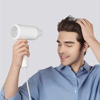 2019 New Xiaomi Water ion Hair Dryer Aluminum Alloy Body 1800W Air Outlet Anti Hot Innovative Diversion Design