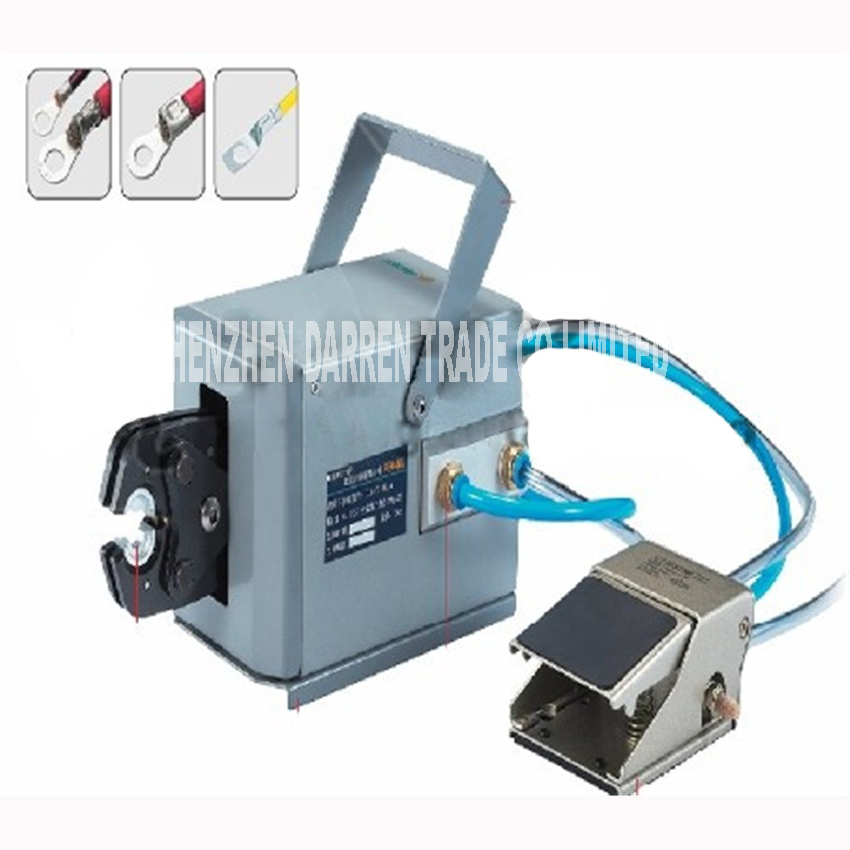 лучшая цена FEK-50L Type Pneumatic Machine tools Bending Wire Crimp Tool Folder Air for Different Cable Terminals pneumatic crimping machine