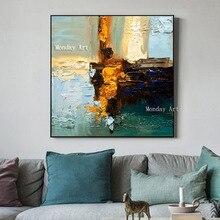 Dropshipping Artist 100% Handpainted modern landscape Oil Painting Handmade Canvas oil painting wall art artwork for living room