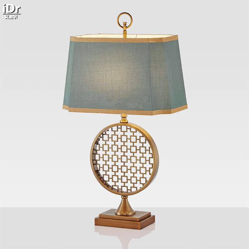 New gold stainless steel fashion creative modern American minimalist bedroom bedside lamp wedding Table Lamps OLU-0079 mds89664h steel bedside commode